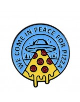 WE COME IN PEACE FOR PIZZA